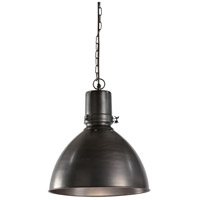 Casual 1 Light 15 inch Iron With Bronze Pendant Ceiling Light