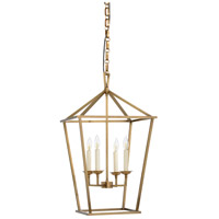 WM 4 Light 17 inch Tapered Square Pendant Ceiling Light