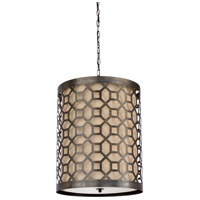 Octavia 3 Light 18 inch Scorched Bronze Pendant Ceiling Light