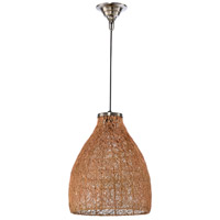Husk 1 Light 12 inch Copper Pendant Ceiling Light