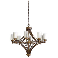 Urbano 8 Light 35 inch Bronze Chandelier Ceiling Light