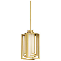 Suki 1 Light 7 inch Antique Brass Pendant Ceiling Light