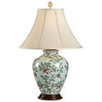 Wildwood Lamps Gooseberry Cherry Table Lamp in Hand Painted Porcelain 6733