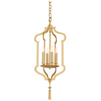 Wildwood 67365 Claire 4 Light 13 inch Gold Leaf Lantern