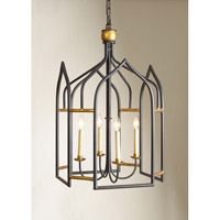 CM 4 Light 23 inch Foyer Lantern Ceiling Light