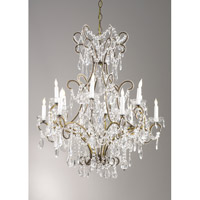 Chelsea House by Wildwood Lamps CM 12 Light Chandelier 68014