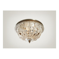CM 3 Light 15 inch Flush Mount Ceiling Light