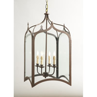 CM 4 Light 15 inch Foyer Lantern Ceiling Light
