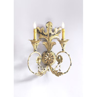 Wildwood 68042 Chelsea House 1 Light Acanthus Leaf Sconce Wall Light Chelsea House