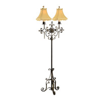 Chelsea House by Wildwood Lamps CM 1 Light Floor Lamp in Faux Bronze 68050