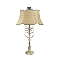 Wildwood 68105 Chelsea House 26 inch 60 watt Rusticated Acanthus Accents Table Lamp Portable Light Chelsea House