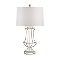 Chelsea House by Wildwood Lamps CM 1 Light Table Lamp in Antique Silver Leaf 68655