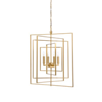 Lisa Kahn 4 Light 30 inch Chandelier Ceiling Light