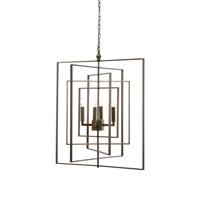 Wildwood 68690 Lisa Kahn 4 Light 30 inch Chandelier Ceiling Light