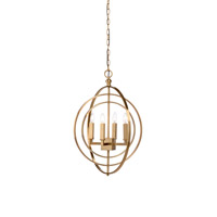 Lisa Kahn 4 Light 21 inch Chandelier Ceiling Light