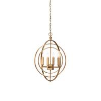 Wildwood 68742 Lisa Kahn 4 Light 21 inch Chandelier Ceiling Light