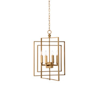 Lisa Kahn 4 Light 22 inch Chandelier Ceiling Light