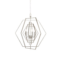 Lisa Kahn 4 Light 36 inch Chandelier Ceiling Light