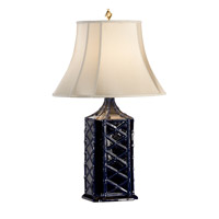 Wildwood Blue Glaze Table Lamps