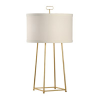 Chelsea House by Wildwood Lamps CM 2 Light Table Lamp in Gold Leaf 68820