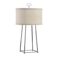 Wildwood 68821 Chelsea House 34 inch 60 watt Polished Nickel Table Lamp Portable Light, Chelsea House