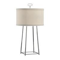 Wildwood 68821 Cm 34 inch 60 watt Polished Nickel Table Lamp Portable Light