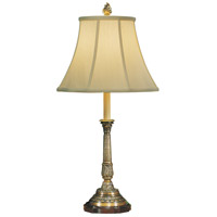 Wildwood Lamps Seed And Leaf Table Lamp in Antique Finish Cast Brass 708