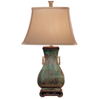 Wildwood Lamps Excavated Urn Table Lamp in Hand Finished Solid Brass 713