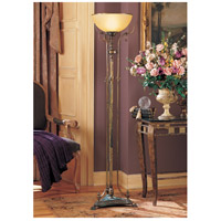 Wildwood Lamps And Rings Torchiere in Hand Finished Italian Bronze 75 photo thumbnail