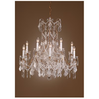 Wildwood Lamps Crystal Chandelier in Lead Crystal On French Gold 7716 photo thumbnail