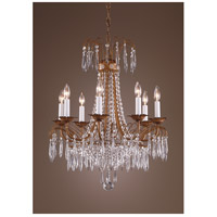 Wildwood Lamps 8 Light Crystal Chandelier 7735