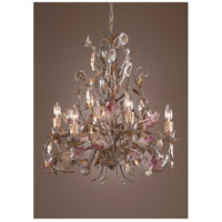 Wildwood Lamps Polychrome Crystal Chandelier in Handmade And Finished 7736
