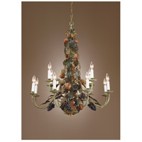 Wildwood Lamps Bountiful Fruits Chandelier 7743