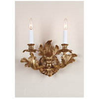 Wildwood Lamps Signature Sconce in French Gold 7793 photo thumbnail