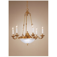 Wildwood Lamps 8 Light Center Bowl Chandelier 7804