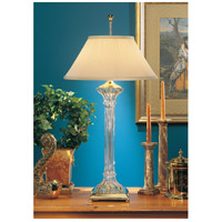 Wildwood Lamps Fluted Crystal Table Lamp in Mouth Blown Lead Crystal 8103