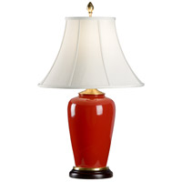 Signature 29 inch 100 watt Hand Glazed Wildwood Porcelain Table Lamp Portable Light