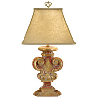 Wildwood Lamps Tuscan Carving Table Lamp in Hand Decorated Faux Wood 8883