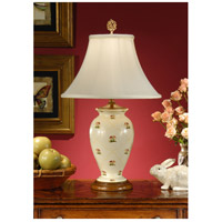 Wildwood Lamps Little Flowers Table Lamp in Hand Painted Porcelain 8901 photo thumbnail