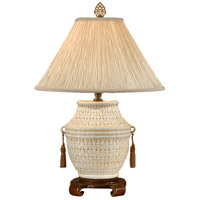 Wildwood Lamps Florentine Basket Table Lamp in Antique Patina 8950