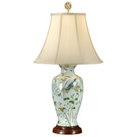 Wildwood Lamps Wonderful Bluebird Table Lamp in Hand Painted Porcelain 8958 photo thumbnail
