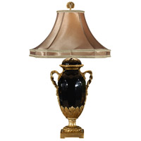 Wildwood Lamps Twisted Handles Table Lamp in Porcelain 8989