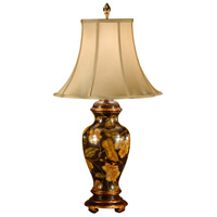 Wildwood Lamps Covered Urn Table Lamp in Hand Painted Wood 9003