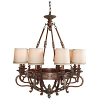 Wildwood Lamps Signature Chandelier in Tortoise On Iron And Alloy 9025 photo thumbnail