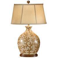 9047 Wildwood Wildwood 30 inch 100 watt Hand Painted Table Lamp Portable Light