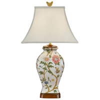 Wildwood Lamps Little Bird Vase Table Lamp in Hand Painted Porcelain 9100 photo thumbnail