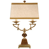 Wildwood Lamps 9213 Marble 30 inch 60 watt Antique Brass Table Lamp Portable Light photo thumbnail