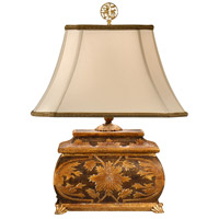 Wildwood Lamps 9227 Gold 22 inch 100 watt Gold Table Lamp Portable Light