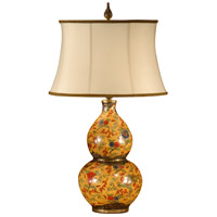 Wildwood Lamps Old Gourd Table Lamp in Antique Patina On Porcelain 9252