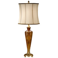 Wildwood Lamps Gold Vase Table Lamp in Etched Design On Crystal 9270 photo thumbnail